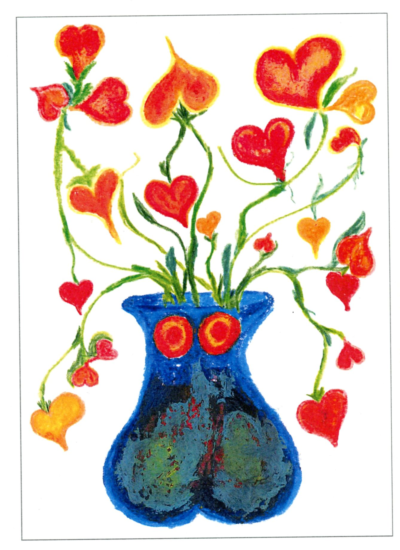 Love Bouquet print and drawing